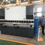 125ton plaatbuigmachine voor het vormen van roestvrij staal