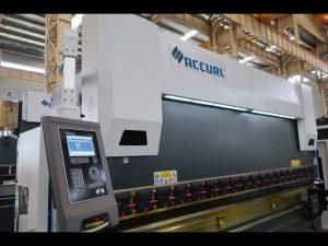 4-assige CNC-persremmachine 175 ton x 4000 mm CNC gemotoriseerde kronen