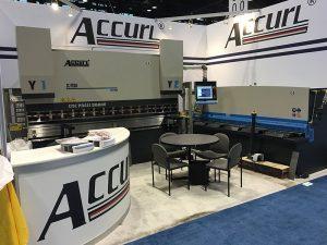 Accurl nam deel aan de Chicago-werktuigmachine en Industrial Automation Exhibition in 2016