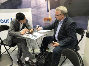 Accurl nam in 2017 deel aan de Hannover International Machine Tool Exhibition in Duitsland