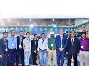 Accurl nam deel aan de India-tentoonstelling in 2016