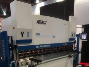 Accurl nam deel aan de Las Vegas Machinetentoonstelling in de Verenigde Staten in 2016