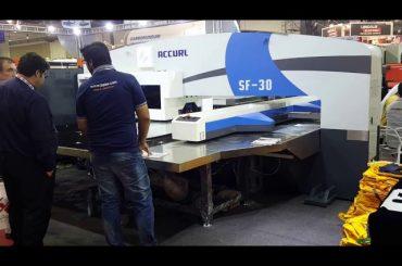 Servo cnc hydraulische revolverponsmachines van hoge kwaliteit