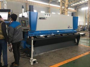 Hydraulische guillotinemachine MS8-8x3200 met bladondersteuningssysteem