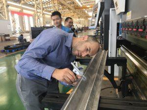 Iran Client Testmachine in onze fabriek 2