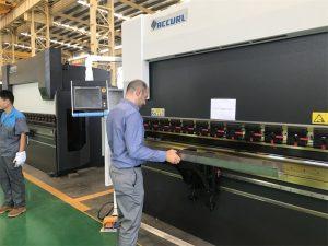 Iran Client Testmachine in onze fabriek 3