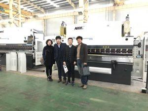 Koreaanse klanten bezoeken onze fabriek