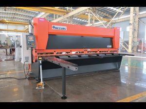 Mastervariabele hark met CNC hydraulische guillotineschaar MS8-10x4000mm