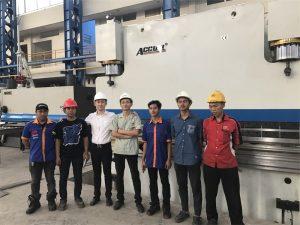 De delegatie van Indonesië kwam onze fabriek bezoeken