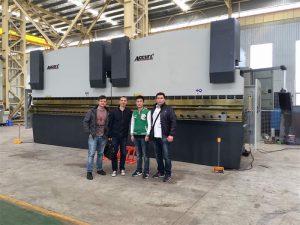 Klanten in Vietnam bezoeken onze fabriek