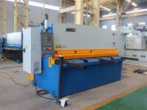 QC11y-16X3200 cnc snijden rvs automatische hydraulische ijzeren plaat guillotine shearing machine met E21