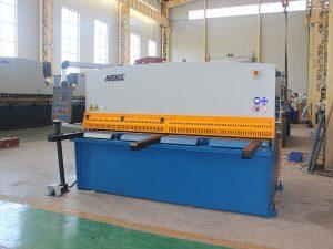 beroemde merk QC12y / K 12X3200 hydraulische scherende machine met goede kwaliteit