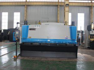 zware cnc hydraulische plaatplaat shearing machine prijs