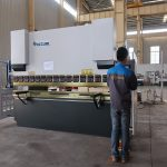 promotie WC67Y hydraulische plaatstalen afkantpers, buigmachine voor aluminium profiel