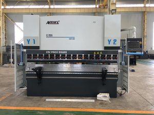 We67k cnc hydraulische ijzeren plaat afkantpers
