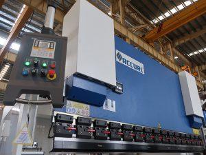 populaire hydraulische cnc kantbank met estun E210 besturingssysteem WC67Y- 125Ton / 3200mm met onderhoudsmonteur