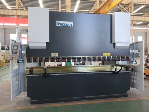 veiligheid gebruikt NC kantpers service stalen buigmachine 80T 2500mm WC67K